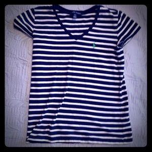 Ralph Lauren Juniors Small Tshirt Striped